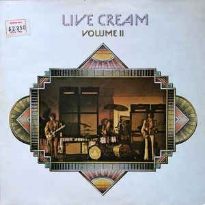 Cream<br>Live Cream Vol II